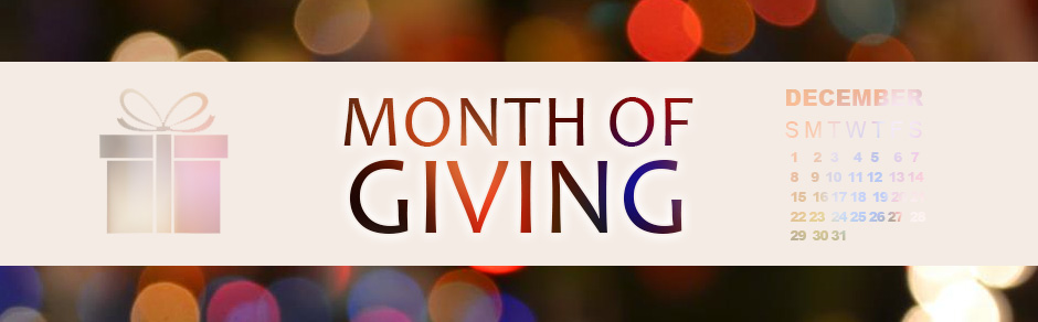 month-of-giving